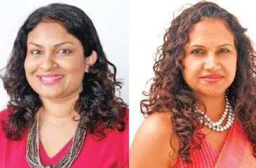CFO Chamika Colonne and CEO Sheron Jayasundara