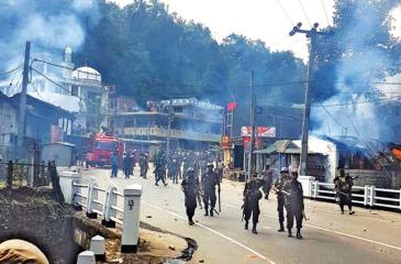 Anti-Muslim riots at Digana, March 2018  file photo