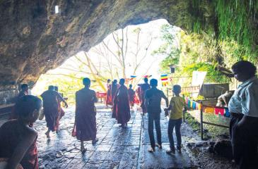 STEEPD IN LEGEND: The historic Batatota cave temple