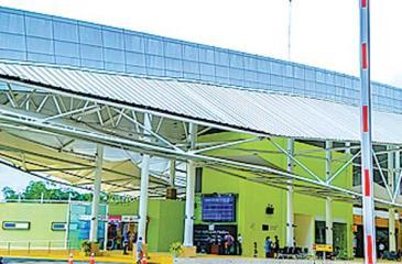 Automated Gates installed by Cenmetrix at the Kottawa-Makumbura Multimodal Transport Centre.