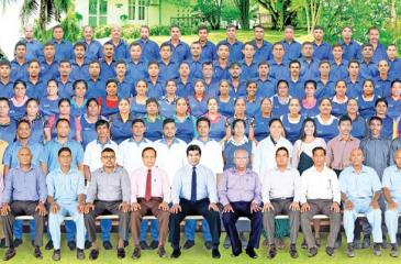 The Ceylon Quartz Industries team.