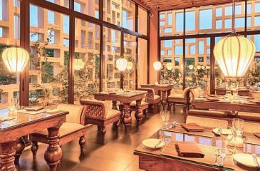 Main restaurant- Jetwing Jaffna