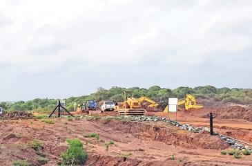 The Aruwakkalu garbage dump