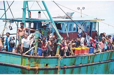 Asylum seekers braving the waves