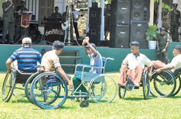 The United Nations Charter for the Rights of Persons with Disabilities was signed in 2007, to facilitate persons with disabilities. Although Sri Lanka also signed it, committing to implement universal provisions, there is no progress to date.                                                            Pix: Lake House Media Library