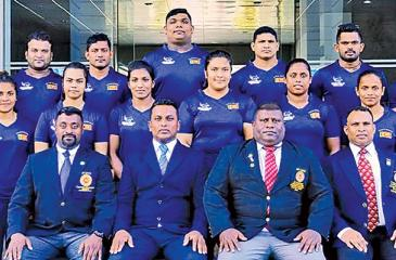 The women's weight lifters comprise Chamari Warnakulasuriya (55kg), Hansani Gomes (49kg), DMS Samarakoon (45kg), RMN Rajapakse (59kg), V. Arshika (63kg), BC Priyanthi (76kg) and TNB Haputenna (above 75kg). Chamari, Hansani and Priyanthi won silver medals each the last time and will endeavour to enhance their medal prospects.   RB Wickramasinghe is the head coach for this tour. Teams: Men: YDI Kumara, Tilanka Palagasinghe, Chaturanga Lakmal, Indika Dissanayake, Chintana Vidhanage, Shanaka Pieters and Ushan C