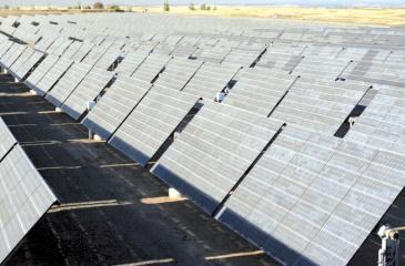 Solar PV cell installations are much easier to set up than other forms of power plants.