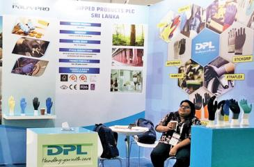 The Dipped  Products stall at Intersec 2018