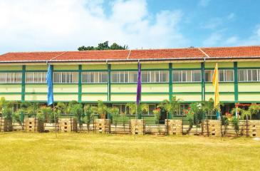 A new school building