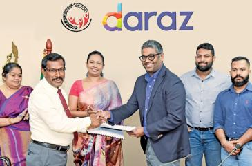 The MoU was signed by Samurdhi Director General Saman Bandara and Managing Director / Country Head of Daraz Sri Lanka, Rakhil Fernando.  Minister of Women and Child Affairs and Social Security and Minister of Healthcare and Indigenous Medical Services, Pavithra Wanniarachchi and State Minister of Social Security, Tharaka Balasuriya were also present.