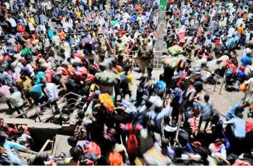 Mass exodus sparks Coronavirus concerns in India