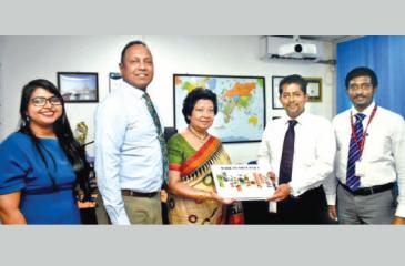 NCE and Bureau Veritas officials after signing the MoU.