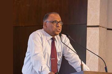 Prof. Ranjith Premalal De Silva speaking at the workshop.