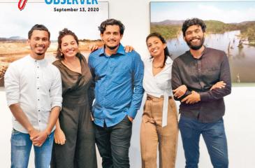 Ramanathan Parilojithan, Munira Mutaher, Sandranathan Rubatheesa, Tashiya de Mel and Shehan Obeysekera