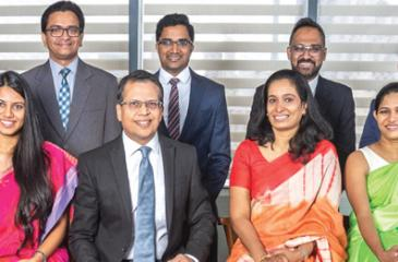 The team leading the charge at Union Assurance