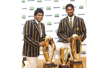 FLASHBACK: Double celebration for Royal College in 2011 as Bhanuka Rajapakse and Ramith Rambukwella emerged the Observer-Mobitel Schoolboy Cricketer of the Year and Most Popular Schoolboy Cricketer of the Year