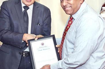 Sunday Observer Editor-in-Chief Dinesh Weerawansa