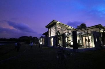 A luxury chalet at the  Dambulla Agri Techno Park