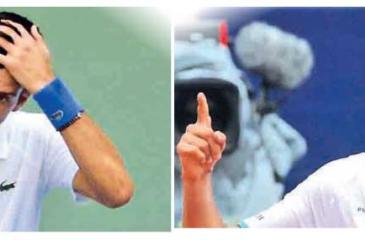 Novak Djokovic-Lorenzo Sonego