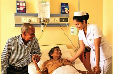 Lanka Hospitals has a dedicated centre for blood cancer care