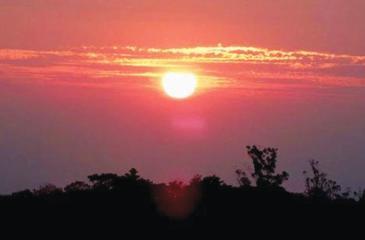 Sunset at Vagamon