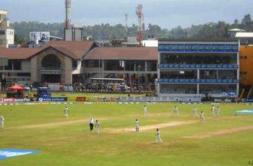 The Galle International Stadium that will be a haven for cricket officials and their friends during the England series