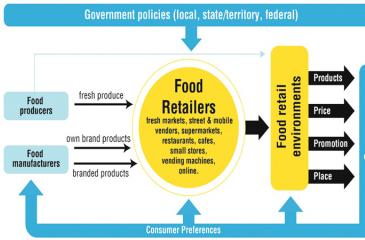 Figure 1: Factors Affecting Retail Food Environments