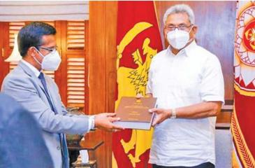 The final report of the Presidential Commission of Inquiry (PCoI) into the Easter Sunday attacks was handed over to President Gotabaya Rajapaksa by the Commission's Chairman, Supreme Court judge Janak de Silva at the Presidential Secretariat.