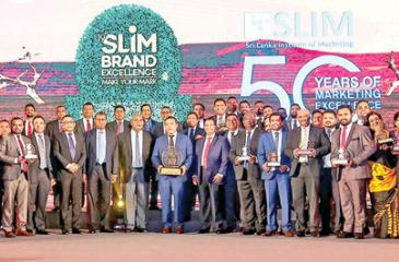 The CBL team at the SLIM Brand Excellence Awards