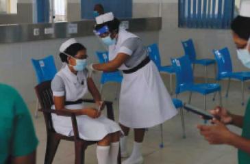 Covid-19 vaccination in Sri Lanka