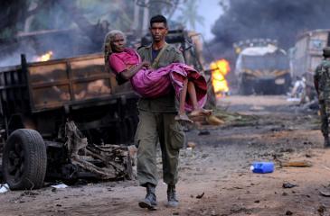 The humanitarian mission (Pic: Rukmal Gamage)