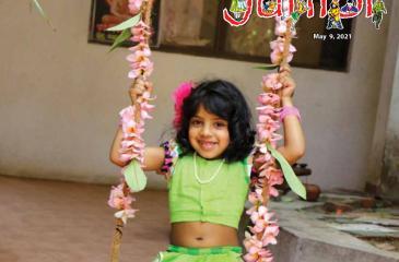 A swinging  smile.  Pic: Saman Sri Wedage