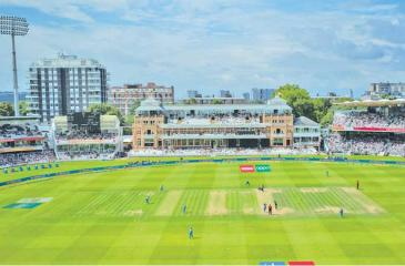 The Lord's cricket ground in London
