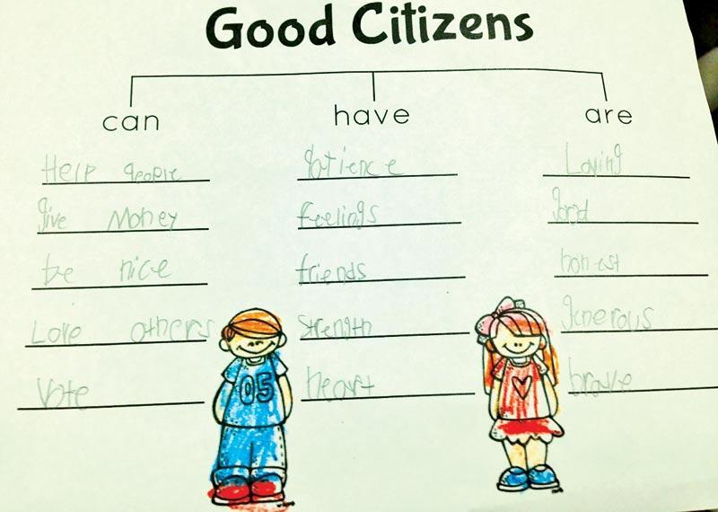 A Good Citizen Sunday Observer