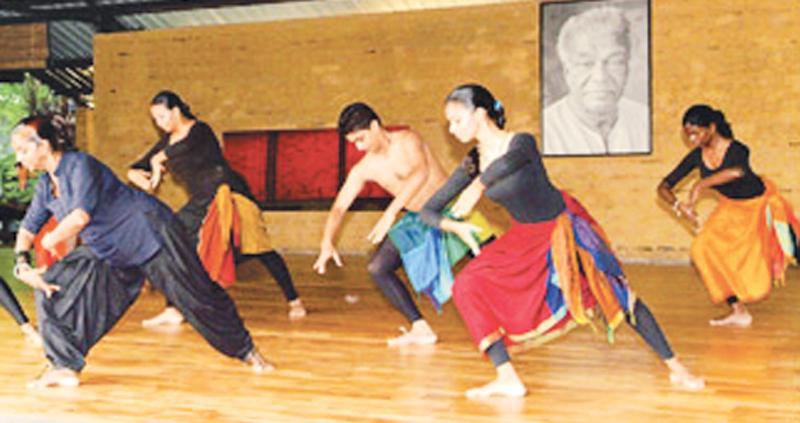 Practice sessions at the Chitrasena School of Dance Pix: Chinthaka Kumarasinghe