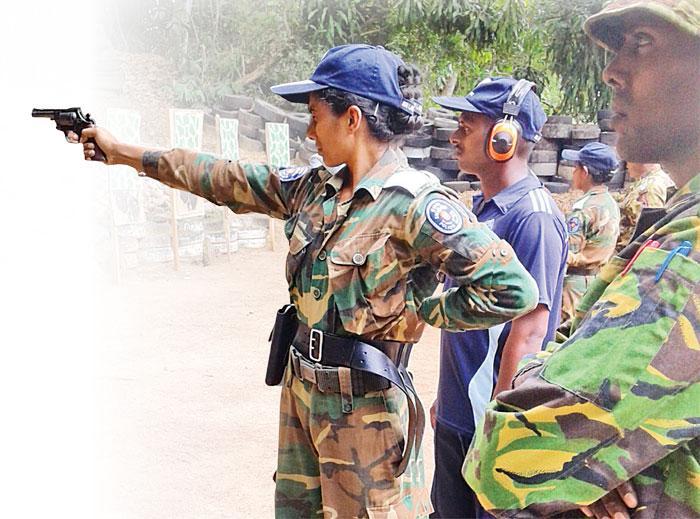 Handgun firing training