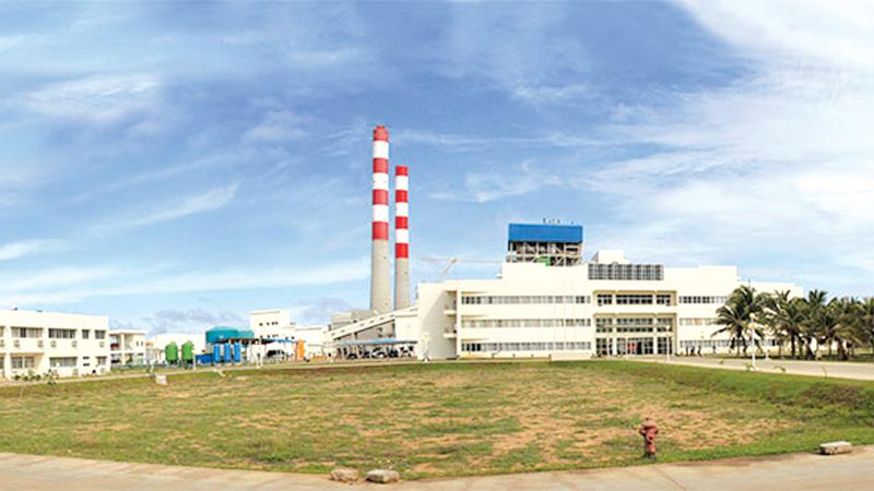The Lakvijaya Power Plant at Norochcholai.