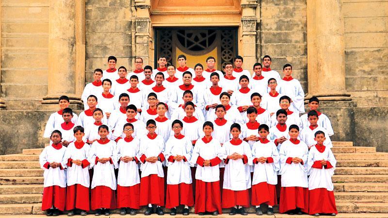 S. Thomas' College, Mt Lavinia choir