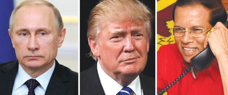 It is now clear that the Sri Lankan President will get to meet two of the most powerful world leaders within the first three months of next year – a significant achievement for Sri Lanka in the foreign policy front.
