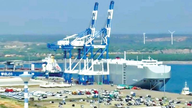 Hambantota Port centre of controversy