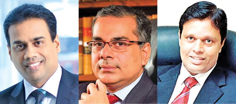 Kishu Gomes , Murtaza Jafferjee and Tilak Gunasekera