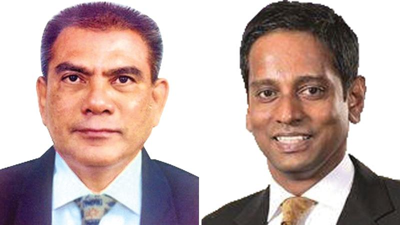 Tyronne Hannan, Head of Custody and Trustee Business and Ruwan Manatunga, DGM Corporate Banking