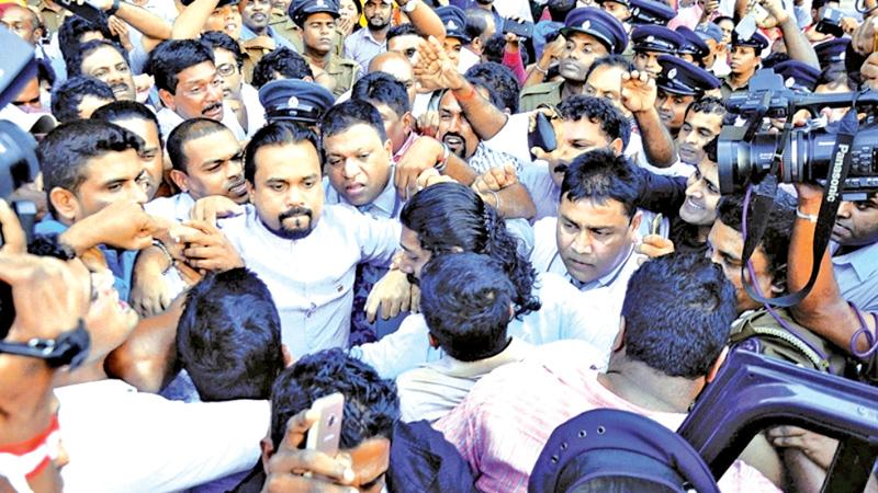 Wimal Weerawansa arrested by the FCID