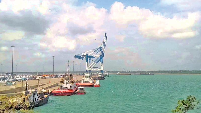 Hambantota deep sea port