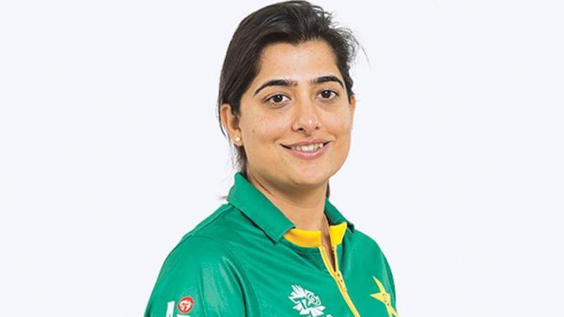 Pakistan's women cricket  captain Sana Mir