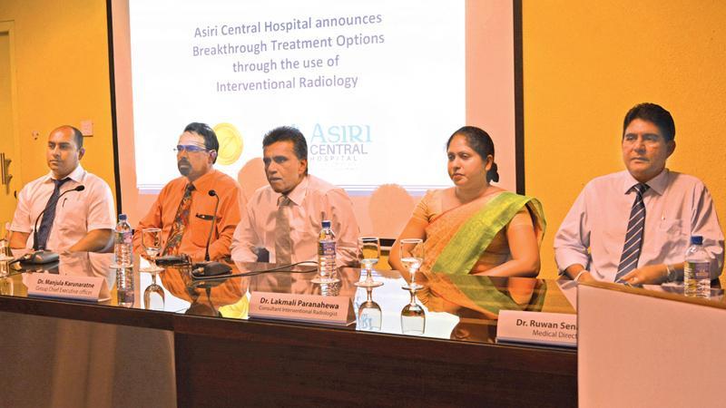 Dr. Manjula Karunaratne speaks at the press briefing. PICTURE BY VIPULA AMERASINGHE