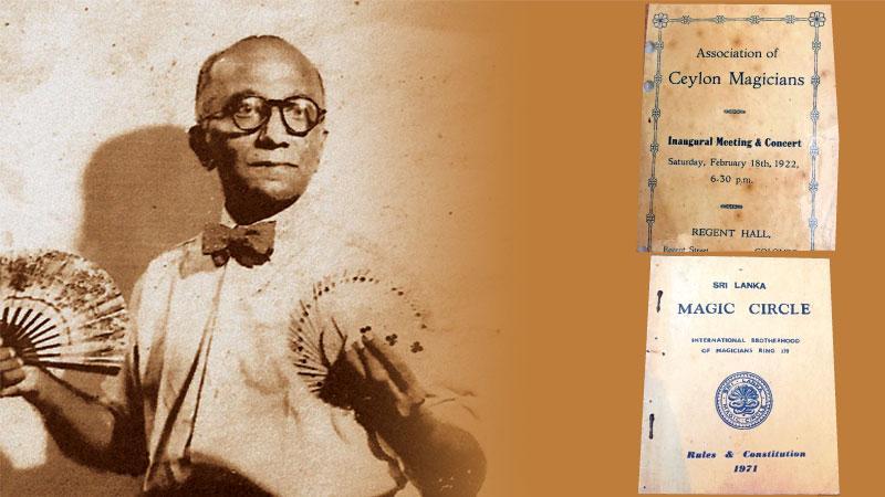 ACGS Amarasekara, first president of the Association of Ceylon Magicians