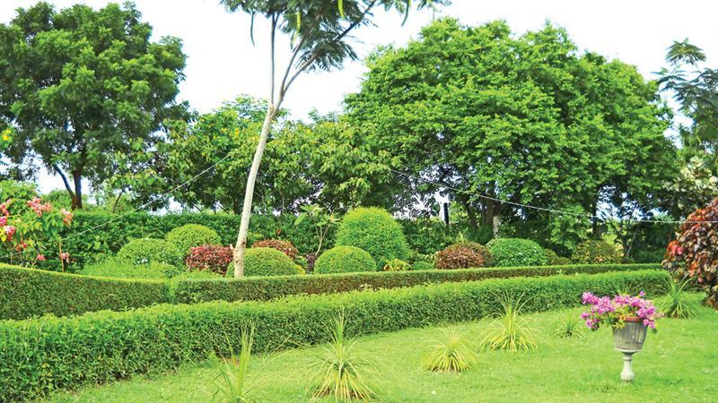 The Botanic Gardens in Mirijjawila in Hambantota