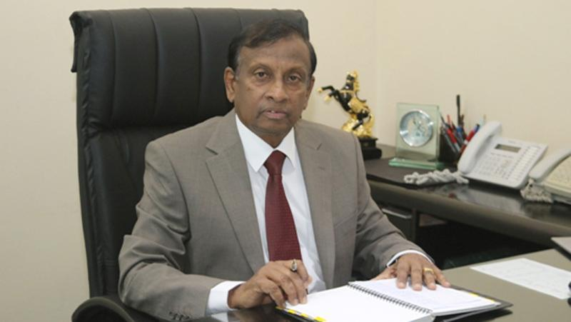 Chairman and MD, D. W.  Paranavithana