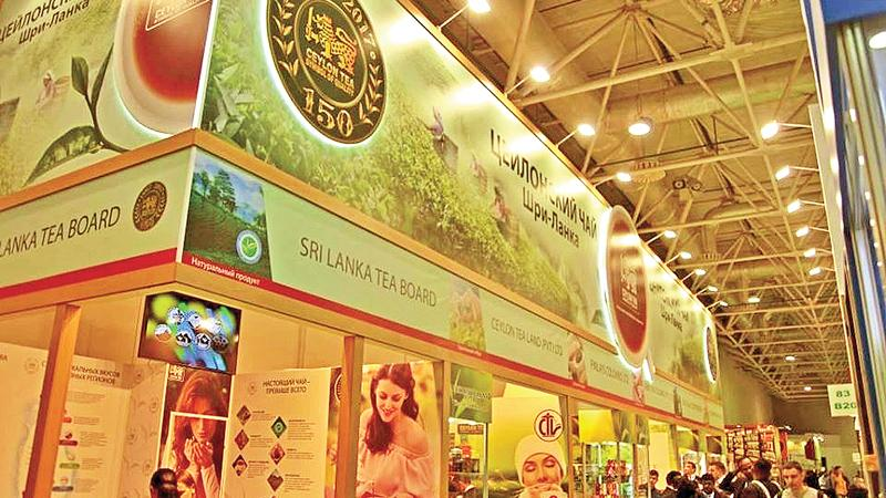 The Sri Lanka stall at the 24th PRODEXPO International Exhibition in Moscow held from February 6-10.